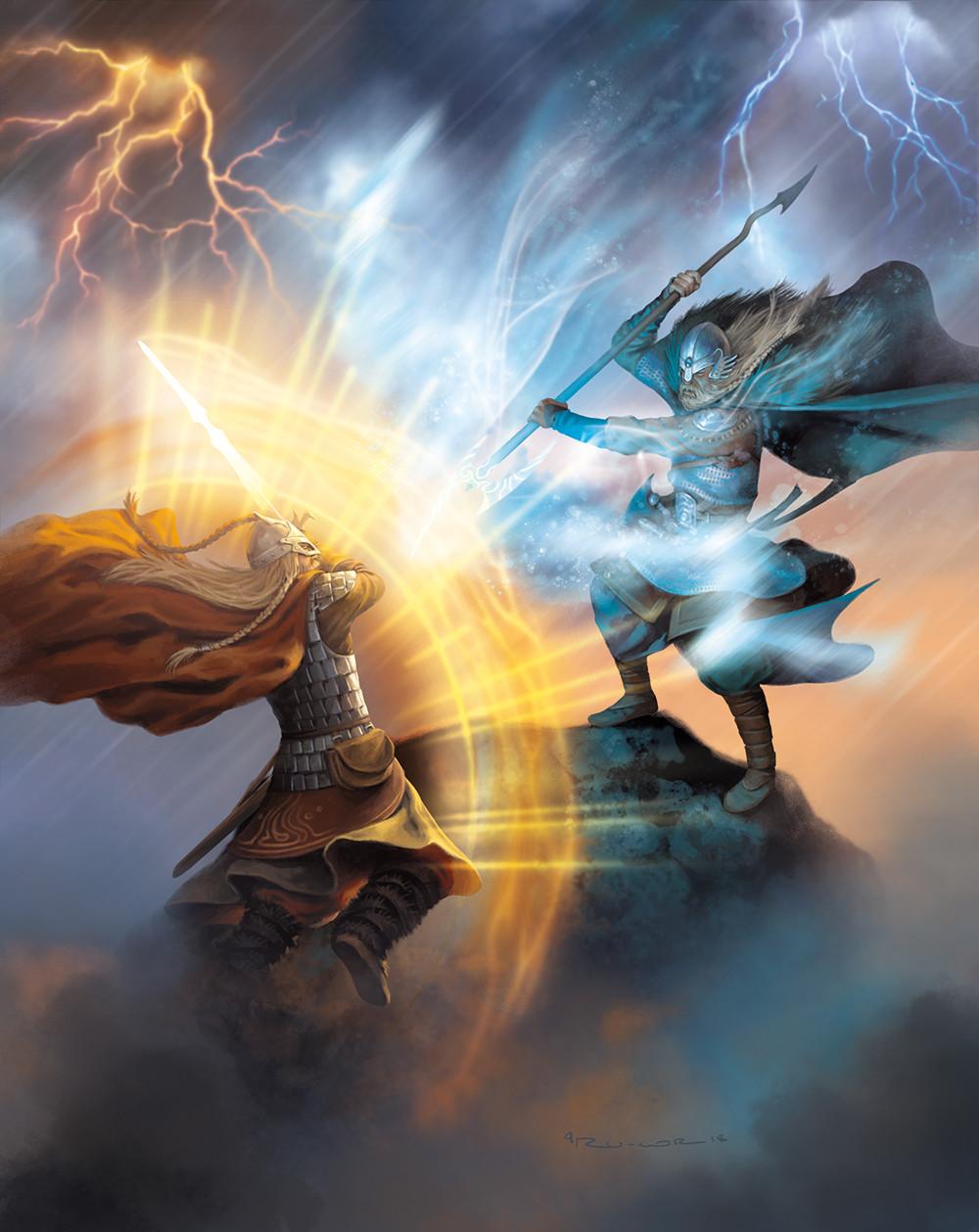 Ragnarok Art Work by Osprey Games