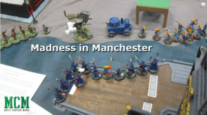 Madness in Manchester Cthulhu 28mm Miniatures Game - Hotlead 2019