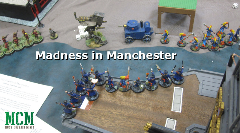 Madness in Manchester Cthulhu 28mm Miniatures Game