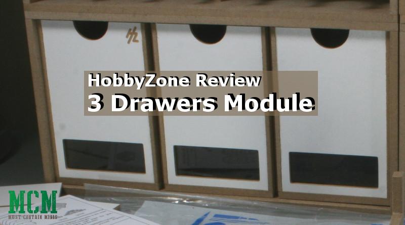 Review – HobbyZone Drawers Module x 3 (OM01b) – Vertical Drawers
