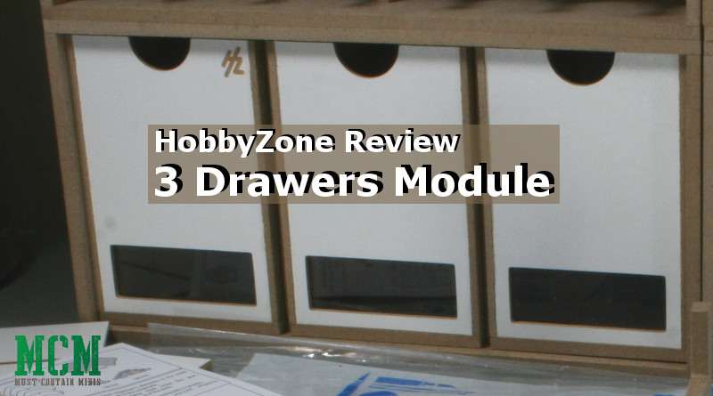 Review – HobbyZone Drawers Module x 3 (OM01b) – Vertical Drawers