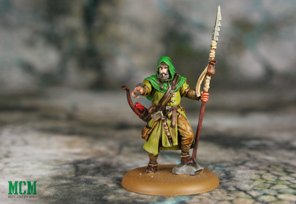 Howland Reed Miniature painted