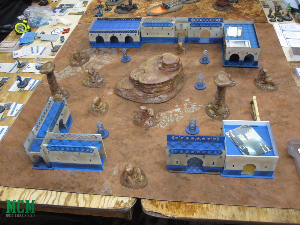 Malifaux Tournament table