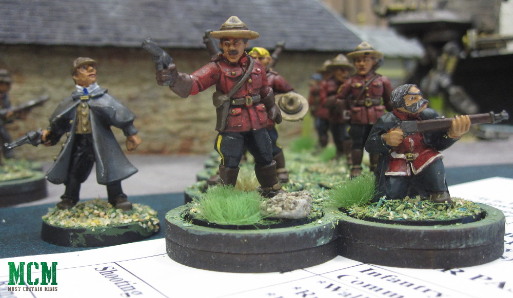 Pulp Figure 28mm miniatures - Canadian Miniatures Gaming Companies
