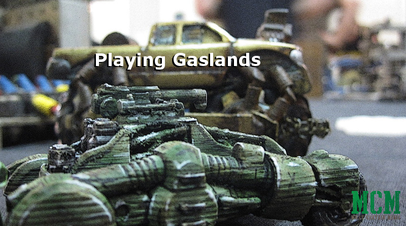 Playing Gaslands - a review of the game by Osprey Games - Minis by Wargaming Tradecraft
