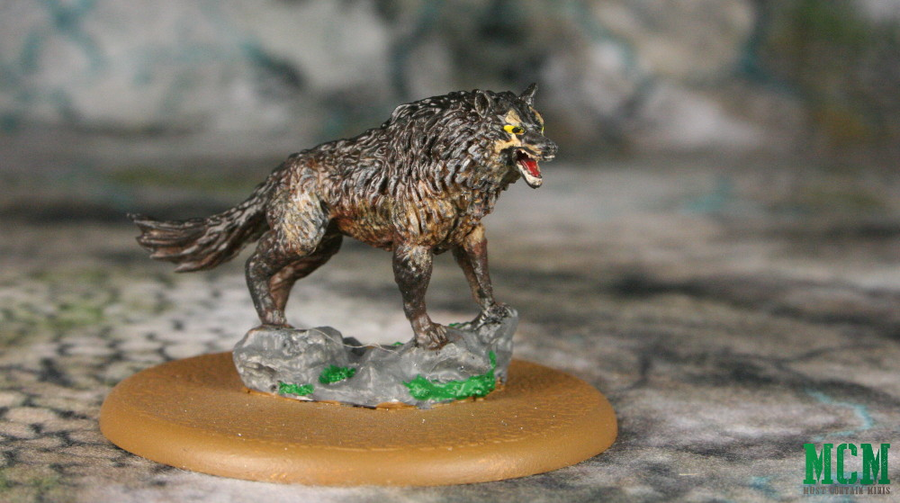 Dire Wolf Miniature - Grey Wind