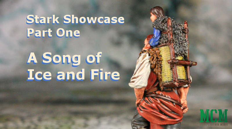 Song of Ice and Fire Painted Miniatures Showcase - Hodor, Bran, Robb, Summer and Grey Wind