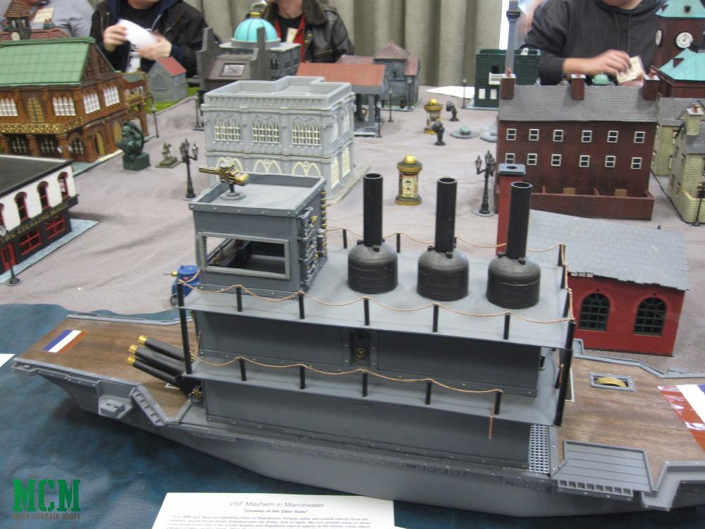 VSF Steam Punk Miniature Wargaming tabletop