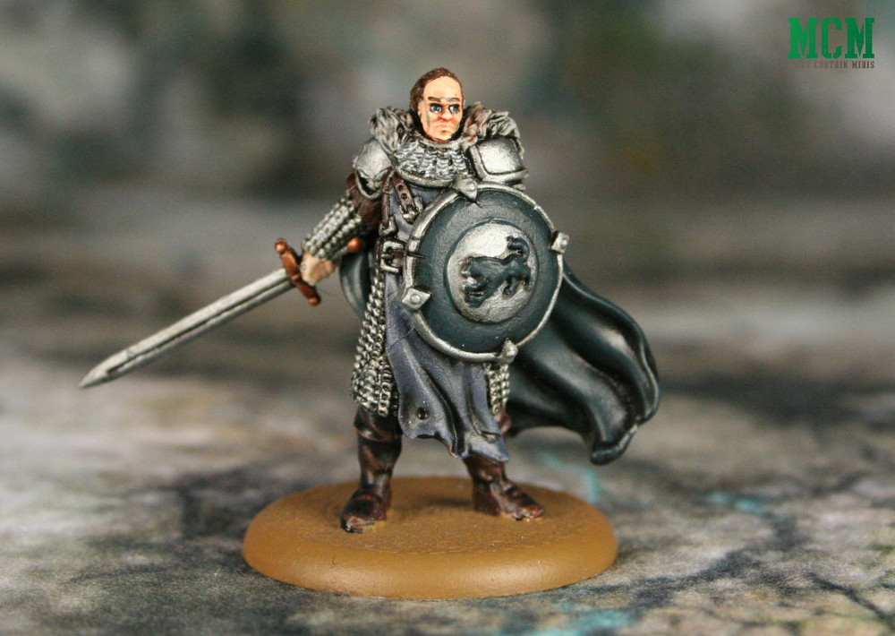 Sworn Sword Captain Miniature from A Song of Ice and Fire by CMON