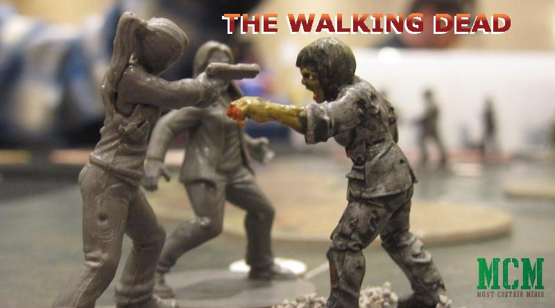 All Out War The Walking Dead 28mm Miniature Showcase