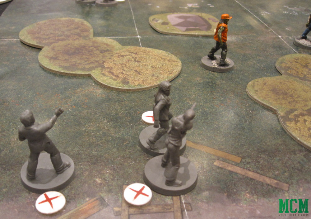 Andrea, Lori and Donna in The Walking Dead Miniatures Game by Mantic Games