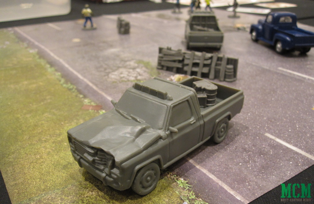 The Walking Dead: All Out War Terrain for 28mm