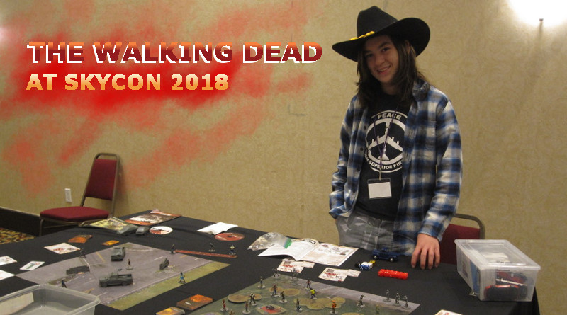 Battle Report - The Walking Dead: All Out War Miniatures Game
