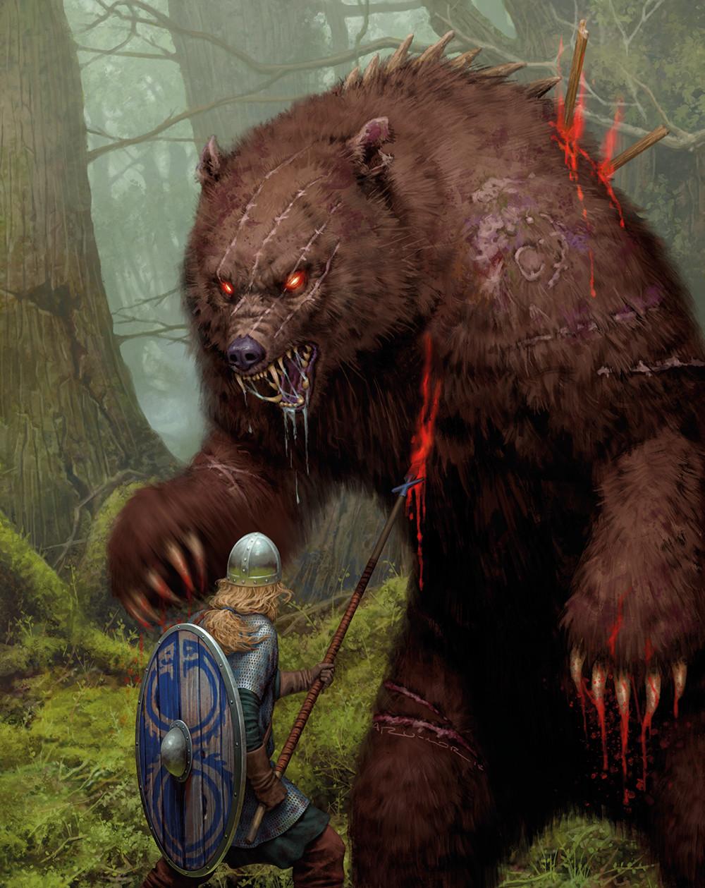 Dire Bear in Ragnarok by Osprey Games
