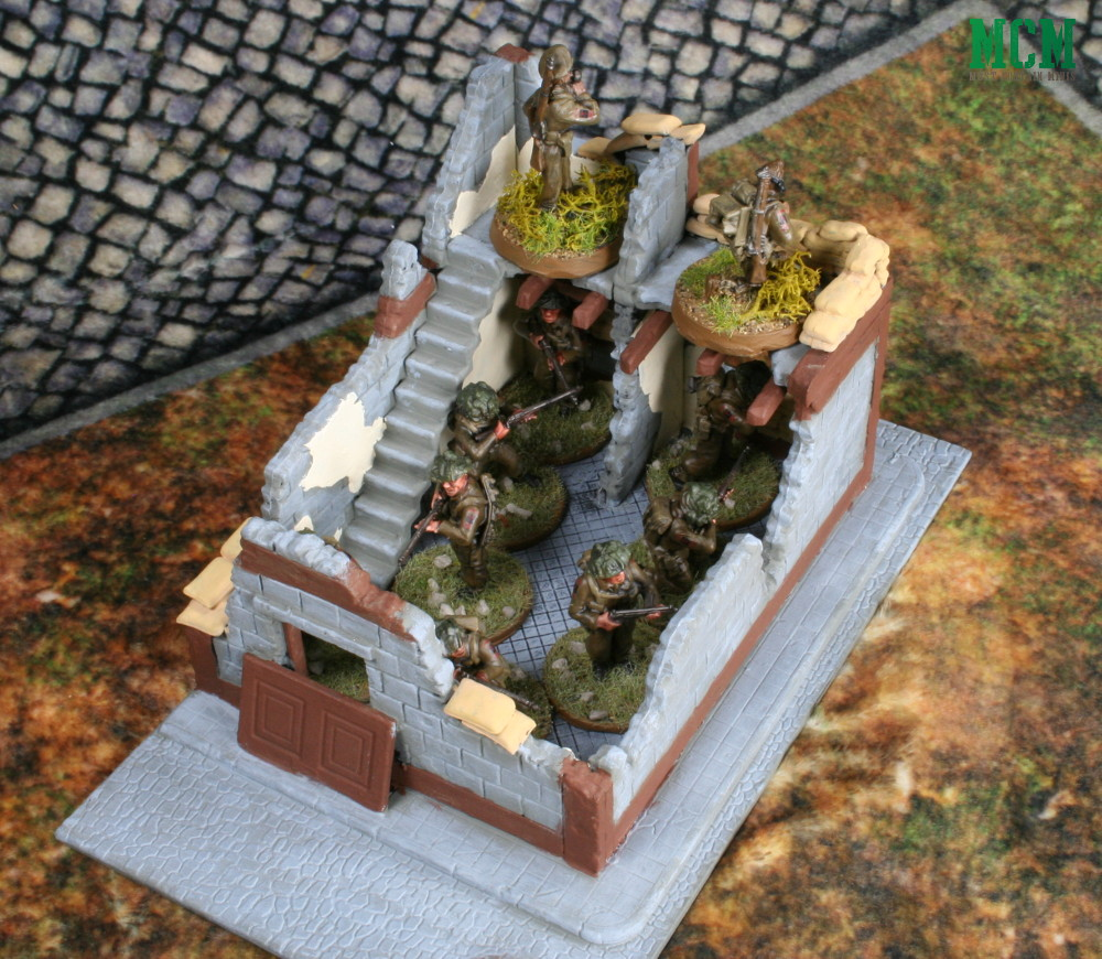 Scale of Wrecked House by Warlord games