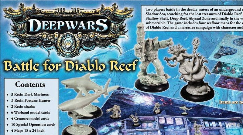 Preview - Battle for Diablo Reef 2 Player DeepWars Starter set