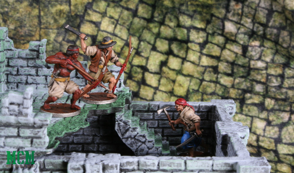 Ruined Building Terrain Review - Blood and Plunder - Six Squared Studios
