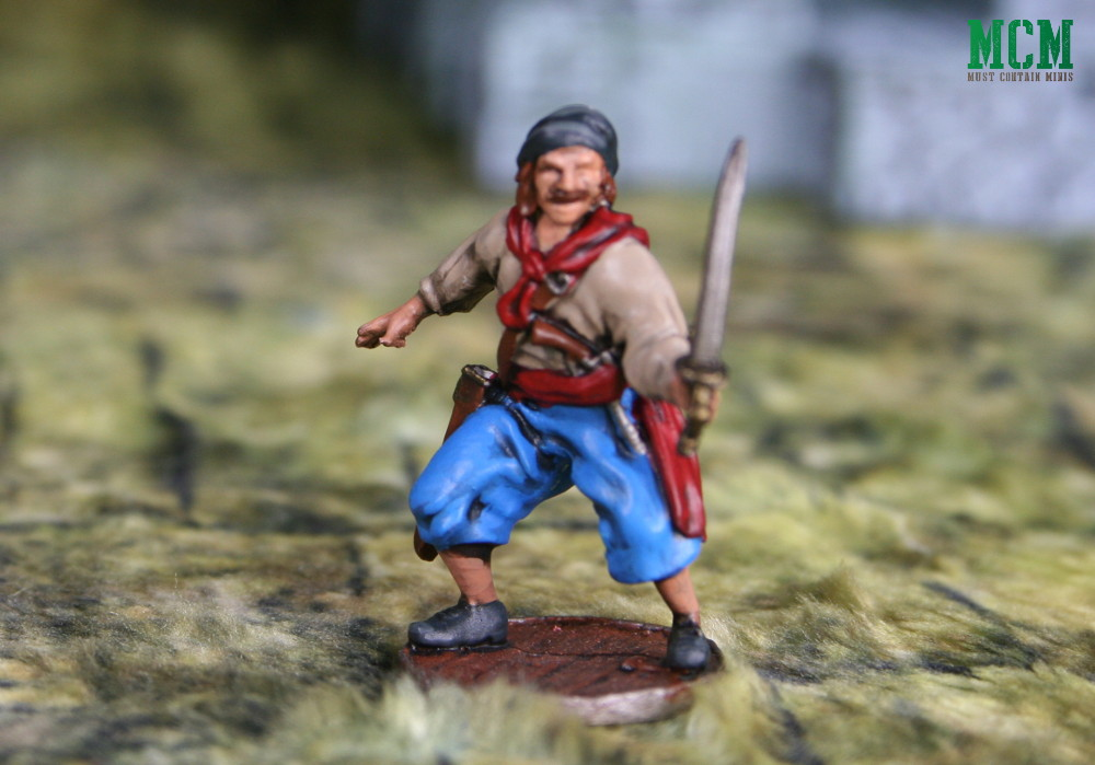 Inigo Montoya like miniature in 32mm