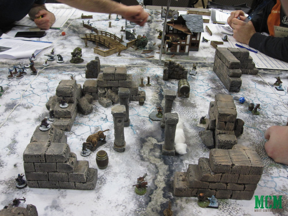 Homemade Frostgrave Terrain - Frostgrave at Hotlead 2019