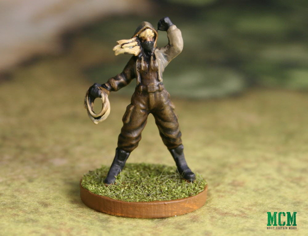 Hunt Saboteur Miniature - 28mm Modern Activist