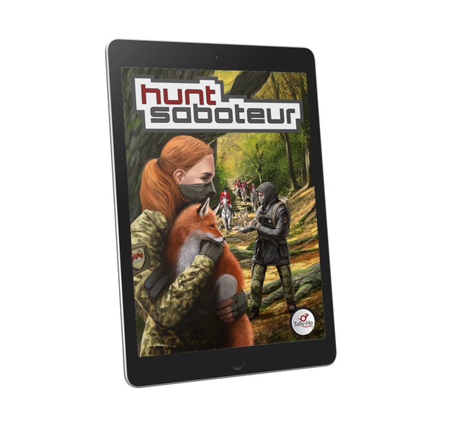 Hunt Saboteur preview - rules set art