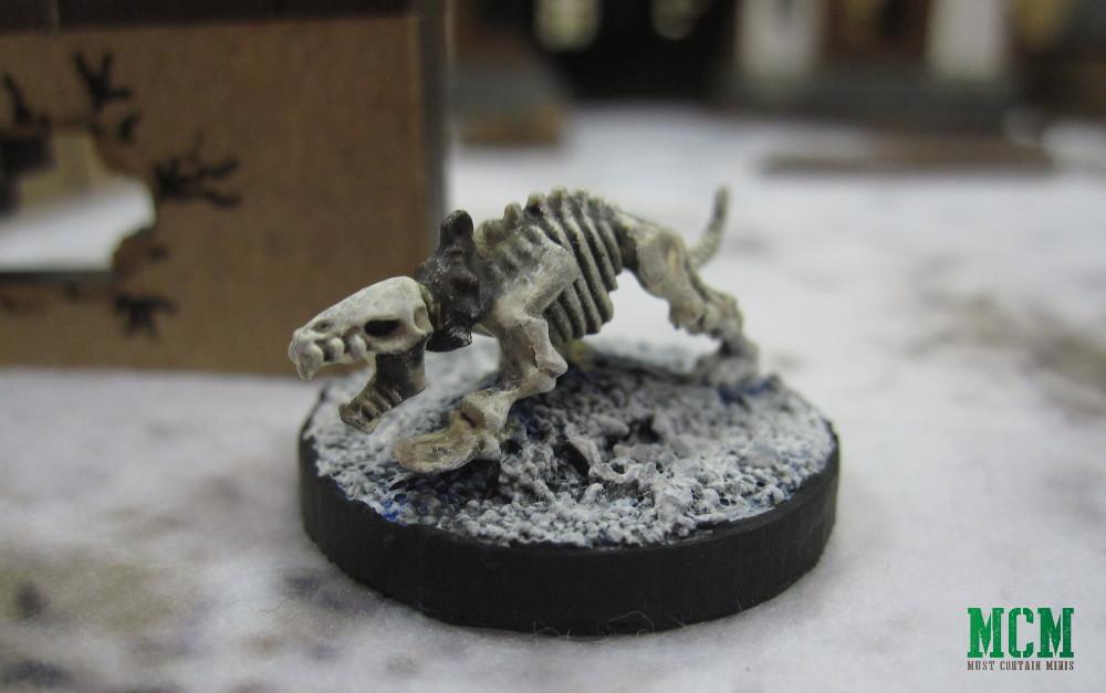 Mantic Games Skeleton Dog