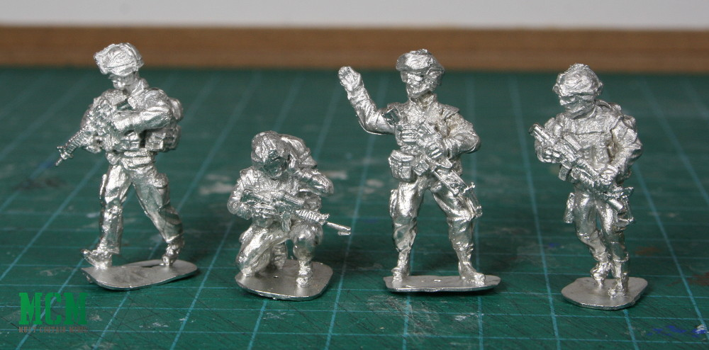 Full Battle Rattle Miniatures test figures
