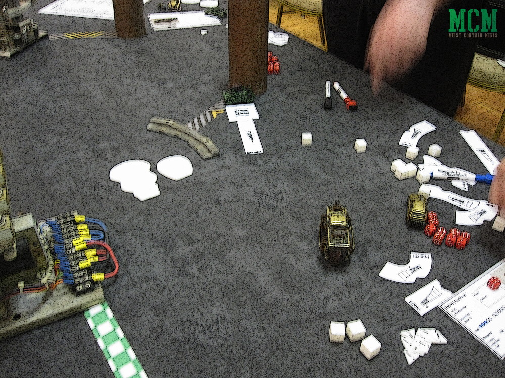 Gaslands miniatures game Movement