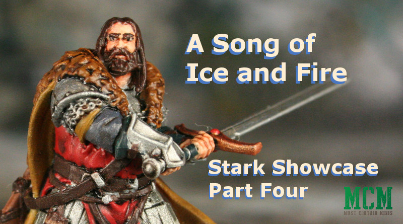 Painted Stark Miniatures from Game of Thrones