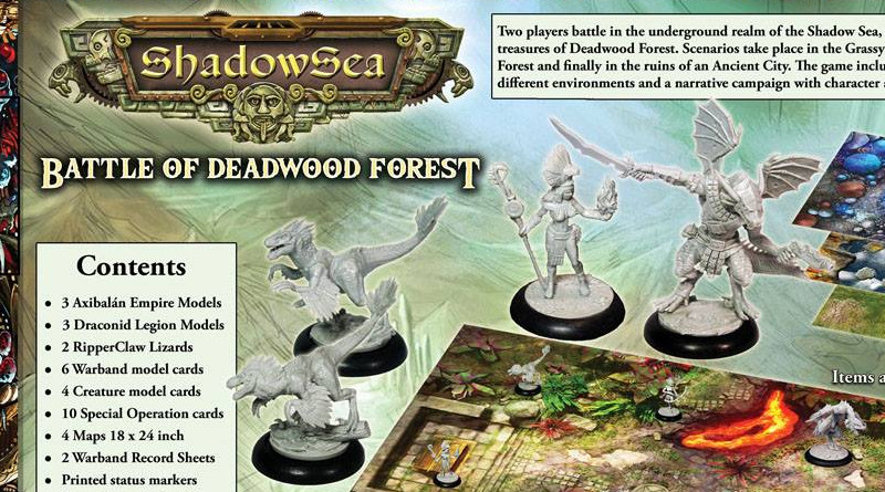 ShadowSea: Battle of Deepwood Forest Preview