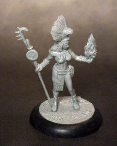 Amazon Princess in 32mm miniature
