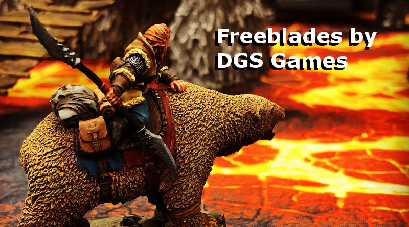 An Introduction to DGS Games and their Freeblades Miniatures