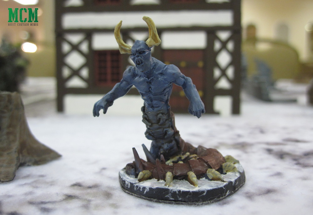 28mm Chilopendra Demon Miniature for Frostgrave Painted Showcase