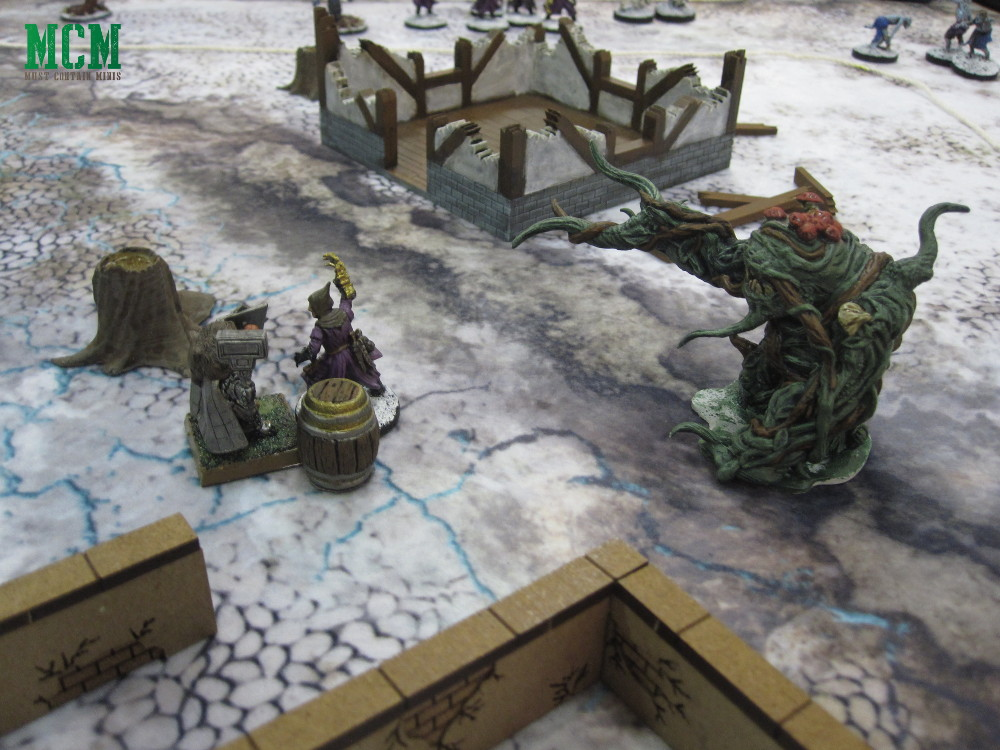 Snow Troll Sneaks up on a cultist