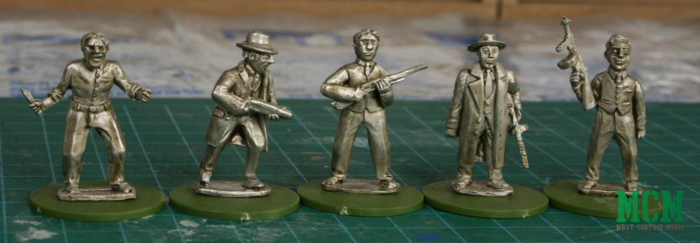 Pulp Miniatures Review - Gangsters