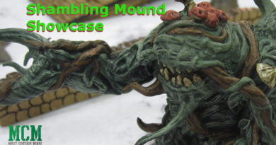 Shambling Mound Miniature Painted by WizKids Games - Dungeons and Dragons Miniatures