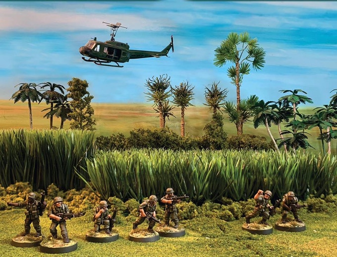 Black Sun - 28mm Vietnam Wargame miniatures - historical minis