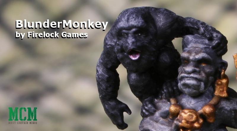 Firelock Games' BlunderMonkey painted model showcase