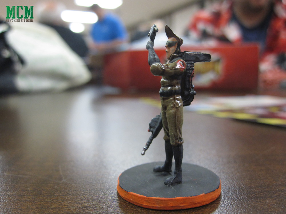 Spengler Miniature from Ghostbusters Board Game