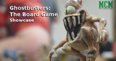 Painted Ghost Miniatures from Ghostbusters: The Board Game