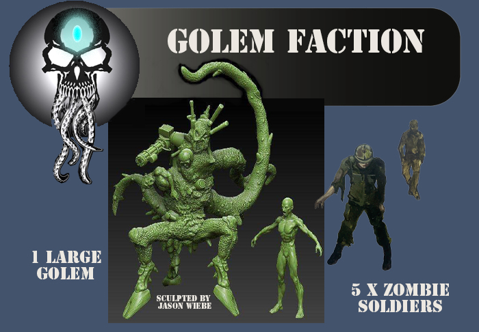Black Sun Golem Faction