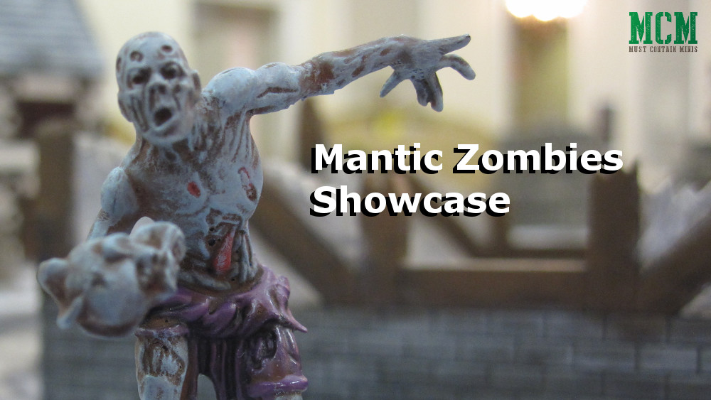 Mantic Zombies Showcase