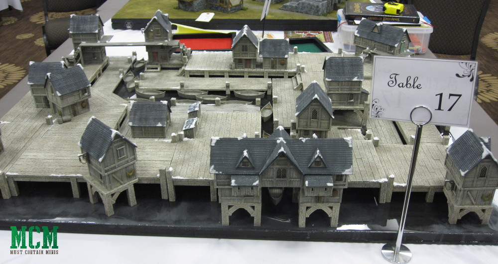 The Coolest hobbit gaming tables - Could also be used for Frostgrave Ghost Archipelago and a whole bunch of other games