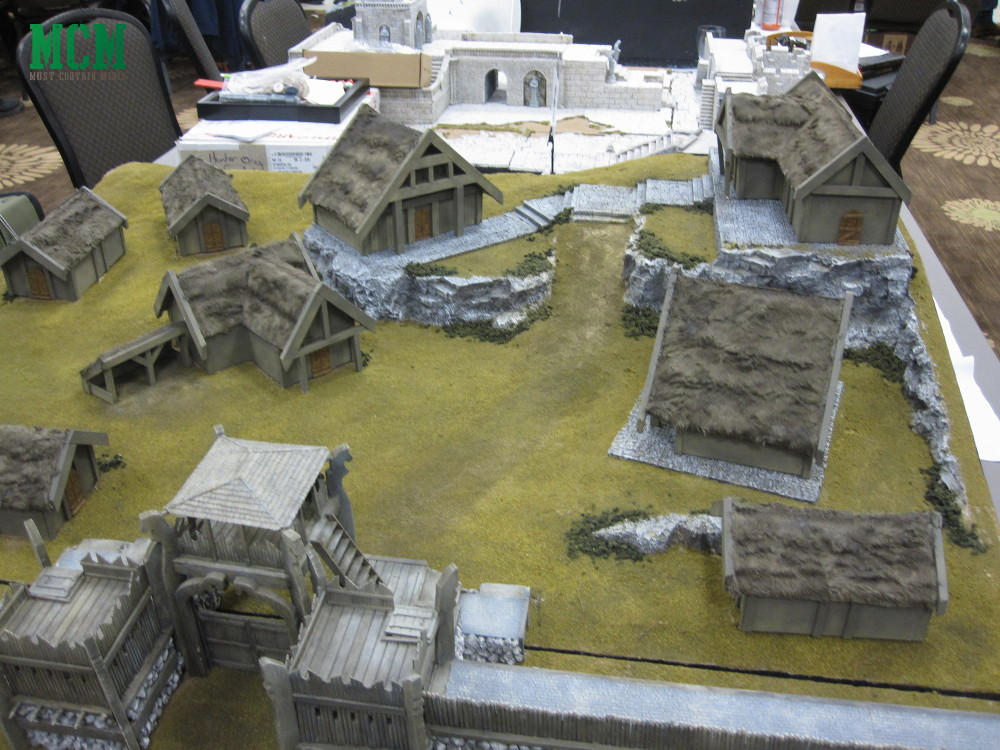 Lord of the Rings Wargame Table set up - Terrain - Coolest hobbit gaming tables