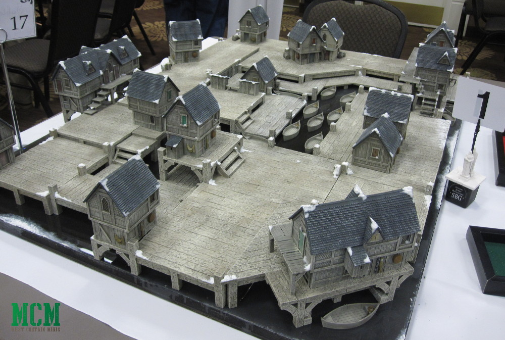 Coolest hobbit gaming tables - Lord of the Rings Terrain - Frostgrave Terrain - Ghost Archipelago Terrain