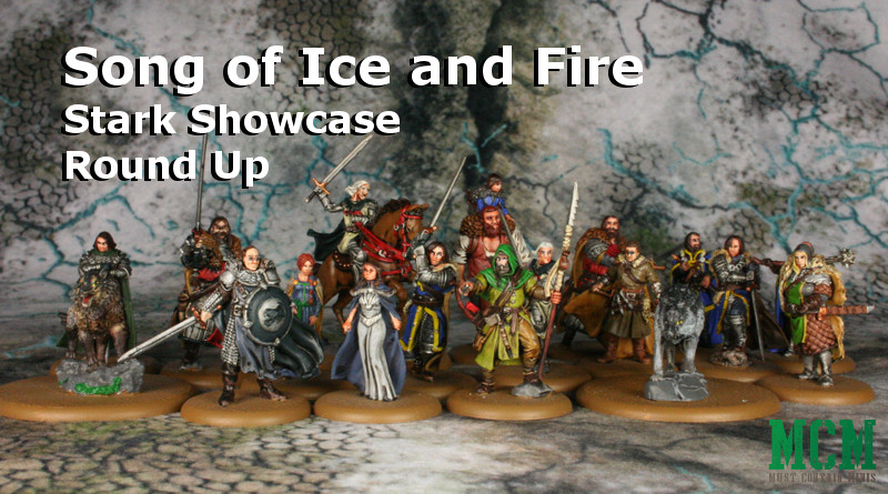 Song of Ice and Fire Stark Miniatures - Painted