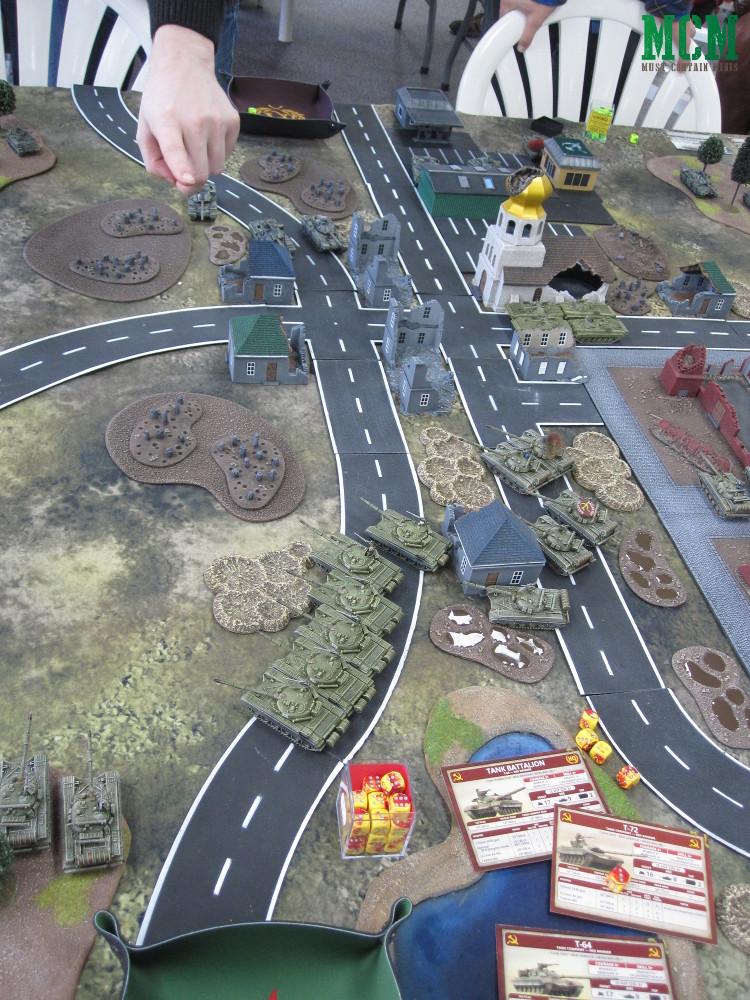 Modern Cold War Tanks 15mm miniatures game by Battlefront