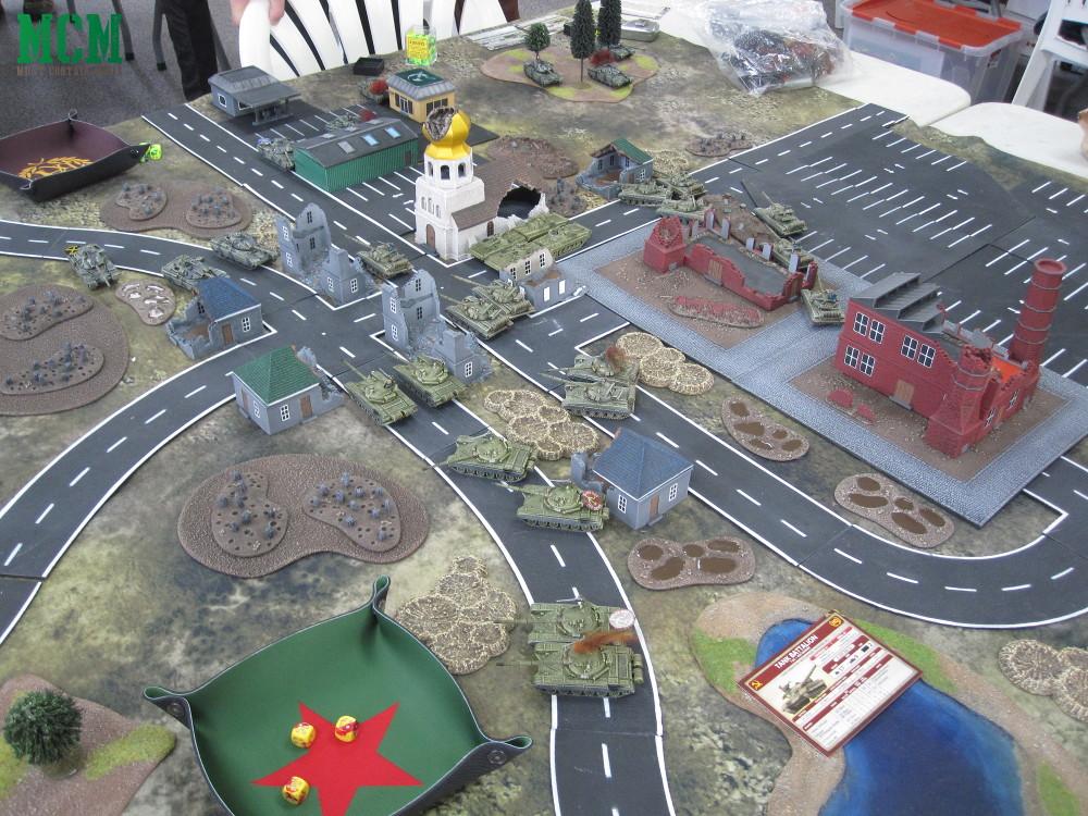 British and American vs Russian in Team Yankee - Battle Report