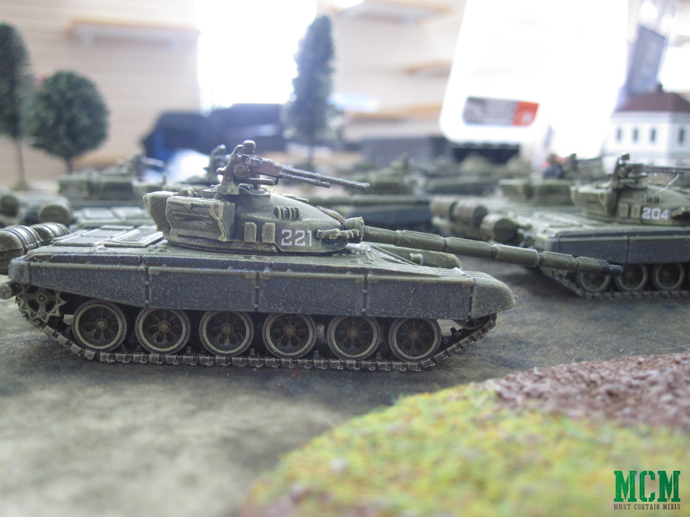 T-72 Miniature Tank 15mm