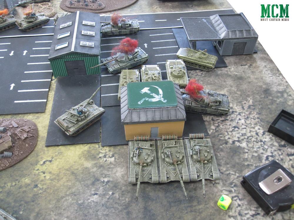 Team Yankee Russian Victory Battle Report